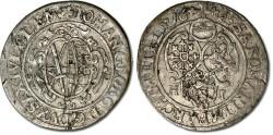 World Coins - Saxony - 1/24 Thaler (Groschen) 1625 HI - VF+