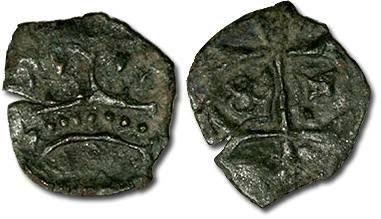 World Coins - Hungary - Husz. 586 - Quarting (MM ?-?), crude F