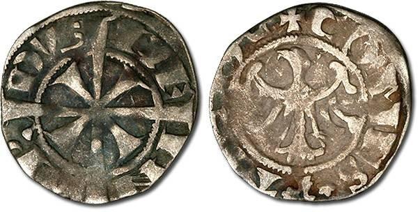 Ancient Coins - Tirol - Meinhard II, 1257/1271-1295 - Zwanziger (Adlergroschen), F