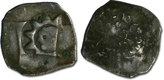 Ancient Coins - Austria - Ottokar II, 1251-1276 - Pfennig, Vienna mint - crude F