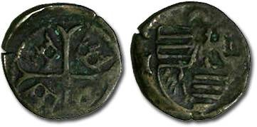 Ancient Coins - Hungary - Sigismund, 1387-1437 - Parvus (MM: I-?) - F