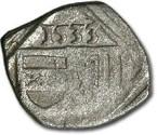 World Coins - Austria, Linz (Oberösterreich), Ferdinand I, 1521-1564 - Uniface Pfennig 1533 - VF