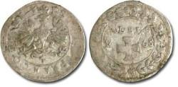 World Coins - Frankfurt - 1 Albus 1668 - F