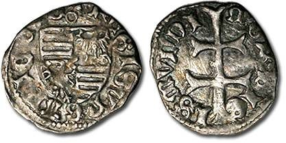 Ancient Coins - Hungary - Husz. 576 - Denar (MM: o), VG