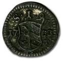 World Coins - Nürnberg - Uniface Pfennig 1733 - VF+