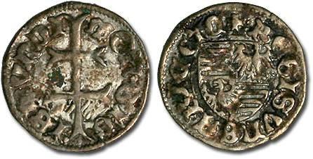 Ancient Coins - Hungary - Sigismund, 1387-1437 - Denar - VF