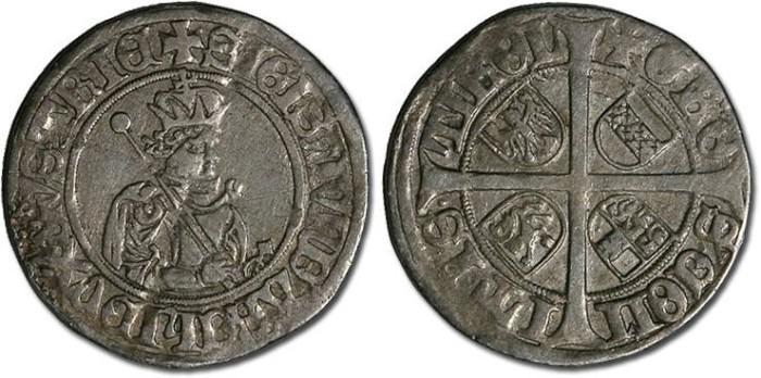 Ancient Coins - Tirol, Hall - Erzherzog Sigismund - Sechser - F
