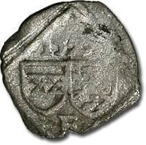 World Coins - Austria, Styria, Ferdinand I, 1521-1564 - Uniface Pfennig 15?? - F