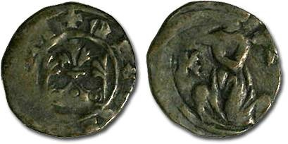 Ancient Coins - Hungary - Karl Robert, 1307-1342 - Parvus - VG