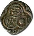 World Coins - Salzburg - 2 Pfennig 1595, uniface Zweier - VF+, full date