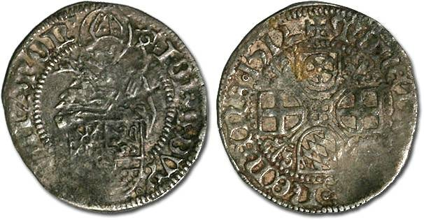 World Coins - Jülich-Berg, Johann 1511-1539 - Schilling 1512 - VF, weak areas