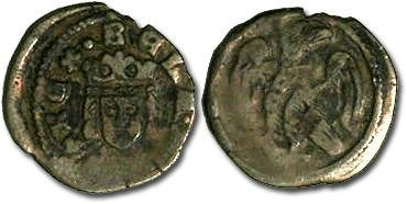 World Coins - Hungary - Bela IV, 1235-1270 - Denar - F
