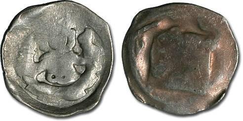 World Coins - Austria - Frederick the Handsome, 1314-1330 - Pfennig, Wiener Neustadt mint - crude VG