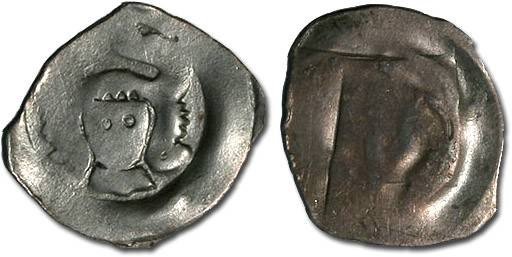 World Coins - Austria - Rudolf III, 1298-1306 - Pfennig, Wiener Neustadt mint - crude VG