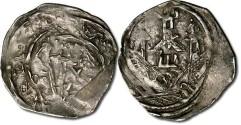 World Coins - Austria - Eberhard II, 1200-1235 - Friesacher Pfennig, crude VF