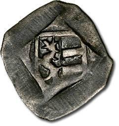 Ancient Coins - Salzburg - Johann II von Reisburg, 1429-1441 - Uniface Pfennig, VF