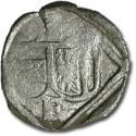 World Coins - Austria, Linz (Oberösterreich), Ferdinand I, 1521-1564 - Uniface Pfennig 15?? - F, cleaned