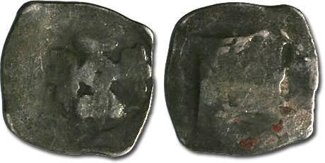 Ancient Coins - Austria - Albrecht II, 1330-1358 - Imitation Halbling - crude AG