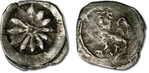Ancient Coins - Austria - Ottokar II (King of Bohemia & Duke of Austria), 1261-1276 - Pfennig, Vienna mint - crude F+
