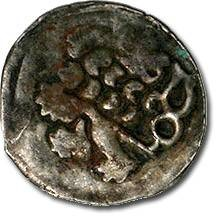 Ancient Coins - Bohemia - Wenceslas IV, Hussite Period, 1420-1436 - Heller - Crude VG+