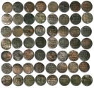 World Coins - Prussia - Lot of 28 Schillings 1714-1739, VG-VF+