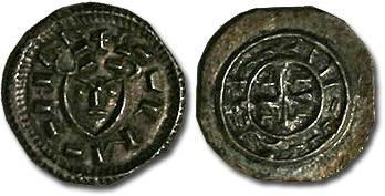 Ancient Coins - Hungary - Koloman, 1095-1116 - Denar - XF