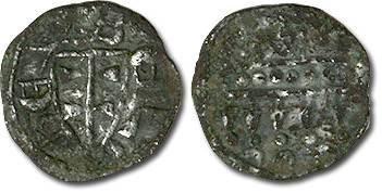 Ancient Coins - Hungary - Husz. 069 - Denar, 1172-1196 Bela III, crude VG