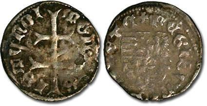 Ancient Coins - Hungary - Sigismund, 1387-1437 - Denar - VG