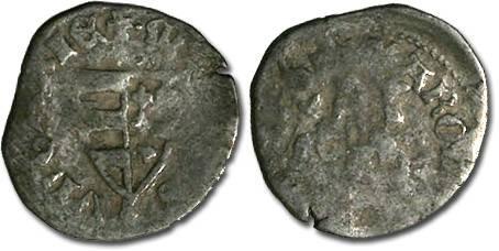 World Coins - Hungary - Karl Robert, 1307-1342 - Denar (MM: ?-?) - G