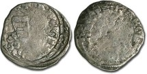 Ancient Coins - Hungary - Karl Robert, 1307-1342 - Denar (MM: A-A) - G, interesting double strike