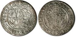World Coins - Saxony - 1/24 Thaler (Groschen) 1624 - VF