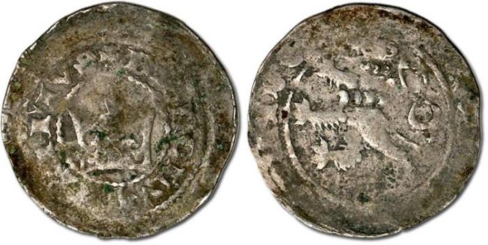 Ancient Coins - Bohemia - Karl I, 1346-1378 - Prager Groschen - Crude VG