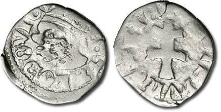Ancient Coins - Hungary - Husz. 547 - Denar, VG