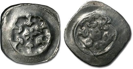 World Coins - Austria - Albrecht I, 1282-1298 - Pfennig, Enns mint - crude VF
