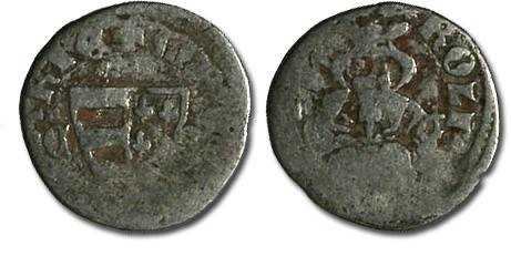 World Coins - Hungary - Karl Robert, 1307-1342 - Denar (MM: C-?) - G