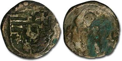 World Coins - Hungary - Matthias Corvinus, 1458-1490 - Obolus (MM: K-P) - G+