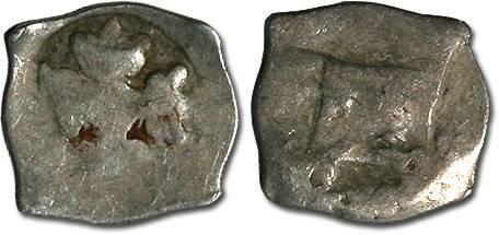 Ancient Coins - Austria - Albrecht II, 1330-1358 - Imitation Halbling - crude G