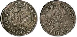 World Coins - Pfalz-Mosbach, Otto II, 1461-1499 - Half Schilling undated - VF