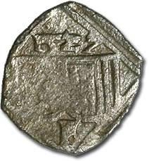 World Coins - Austria, Linz (Oberösterreich), Ferdinand I, 1521-1564 - Uniface Pfennig 1527 - VG, cleaned