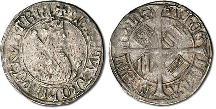 Ancient Coins - Tirol - Maximilian I, 1493-1519 - Sechser, F