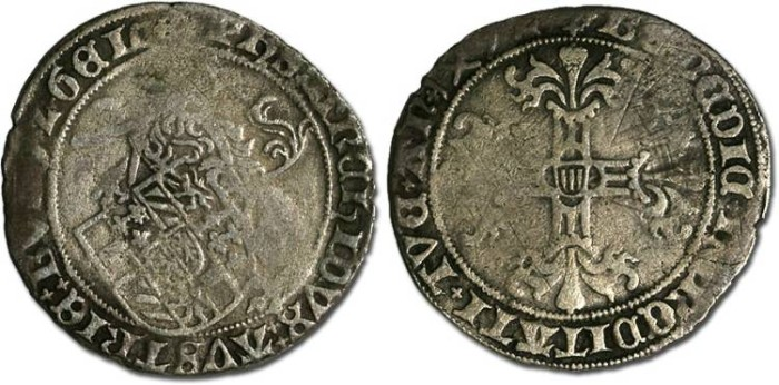 Ancient Coins - Gelderland - Philip the Fair, 1492-1506 - Briquet 1492 - VG
