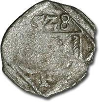 World Coins - Austria, Styria, Ferdinand I, 1521-1564 - Uniface Pfennig 1528 - VG