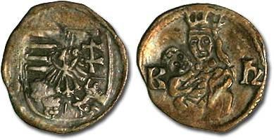 Ancient Coins - Hungary - Wladislavs II, 1490-1516 - Obolus (MM: K-h) - VF