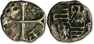 Ancient Coins - Hungary - Sigismund, 1387-1437 - Parvus - VG