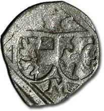 World Coins - Salzburg, Archbishopric, Matthäus Lang von Wellenburg, 1519-1540 - Uniface Pfennig 1536 - F, cleaned