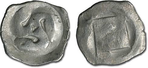 Ancient Coins - Austria - Albrecht II, 1330-1358 - Pfennig, Wiener Neustadt mint - crude VG