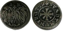 World Coins - Nürnberg - 1 Kreuzer 1759F - F