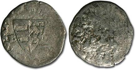 World Coins - Hungary - Karl Robert, 1307-1342 - Denar (MM: B-?) - G
