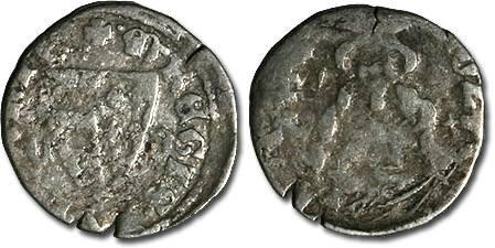 Ancient Coins - Hungary - Karl Robert, 1307-1342 - Denar (MM: C-B) - G