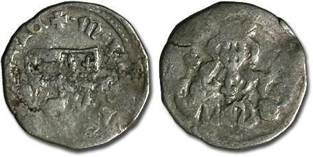 World Coins - Hungary - Karl Robert, 1307-1342 - Denar (MM: ?-?) - VG